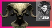 ZBrush Guides: Make it Happen in ZBrush! Faun Creature – Pablo Muñoz Gómez – ZBrush 2021.7